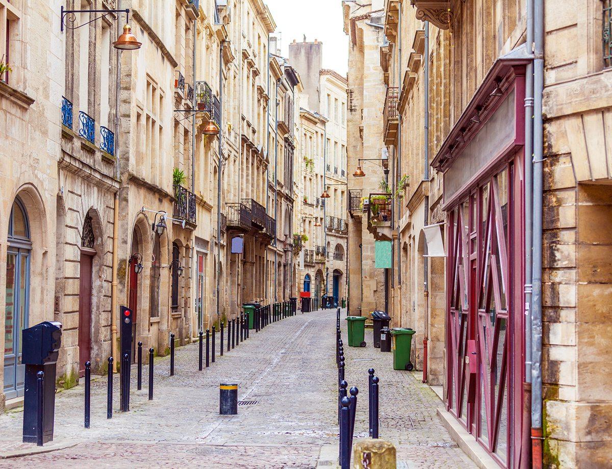ruelle pavée de Bordeaux