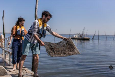 Sortie en mer avec un ostréiculteur sur le Bassin d'Arcachon