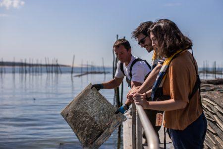 Sortie en mer à la découverte du métier d'ostréiculteur au Bassin d'Arcachon