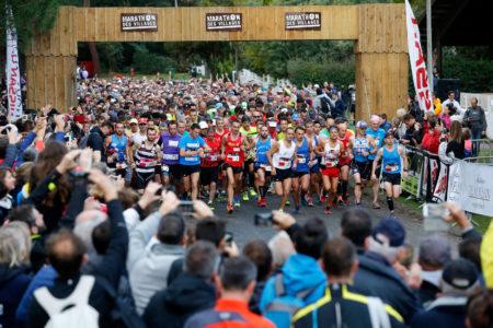 Départ du Marathon des Villages de Lège Cap Ferret