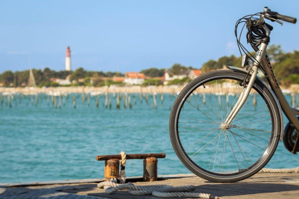Vélo sur le Bassin d