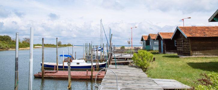 Port sur le Bassin d'Arcachon - Photo à la Une Circuits