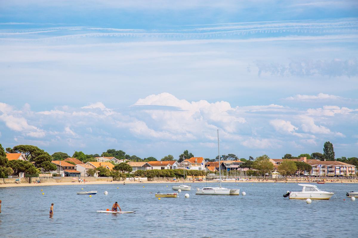 Sur le Bassin à Andernos - Photo à la Une