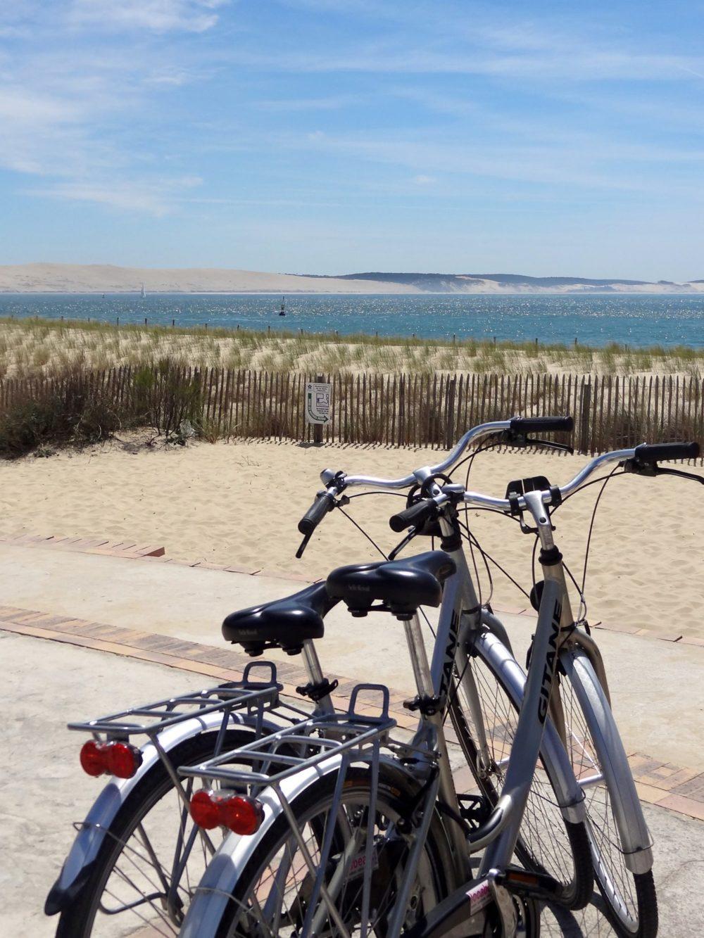 Balade à vélo à la Pointe du Cap Ferret