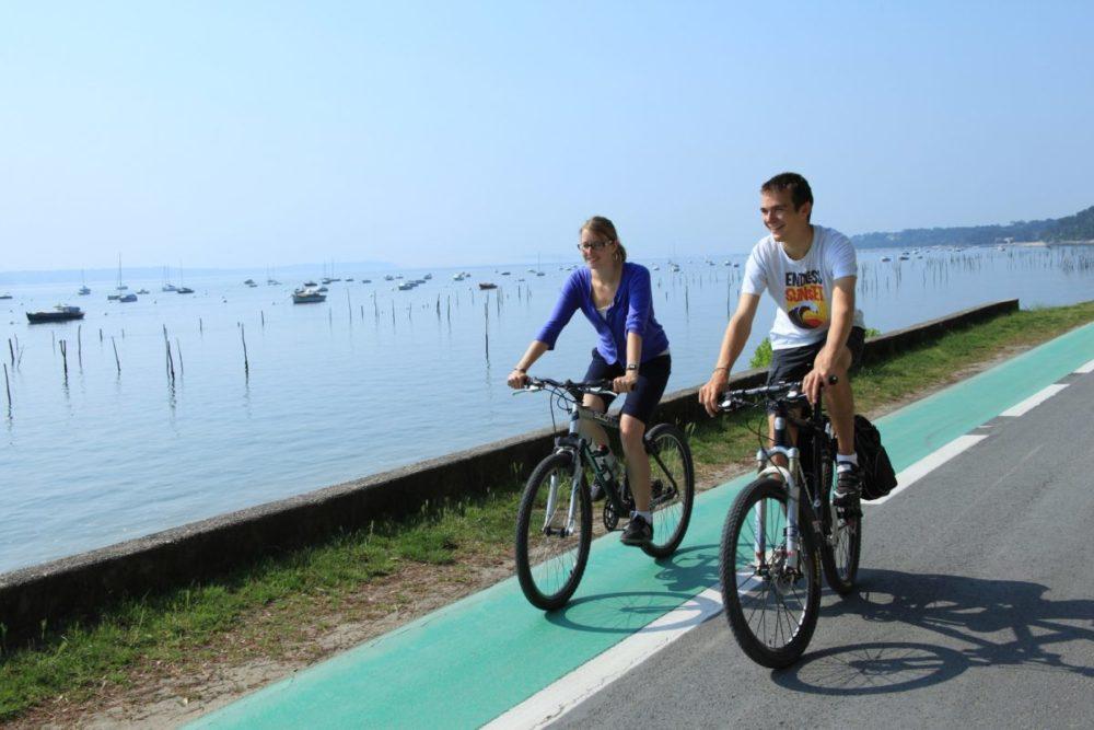 Tour du Bassin d'Arcachon à vélo
