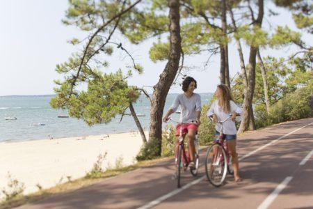 Circuit à vélo d'Arcachon à la Dune du Pilat à la Une