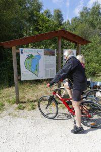 Vélo dans les Prés Salés à La Teste de Buch