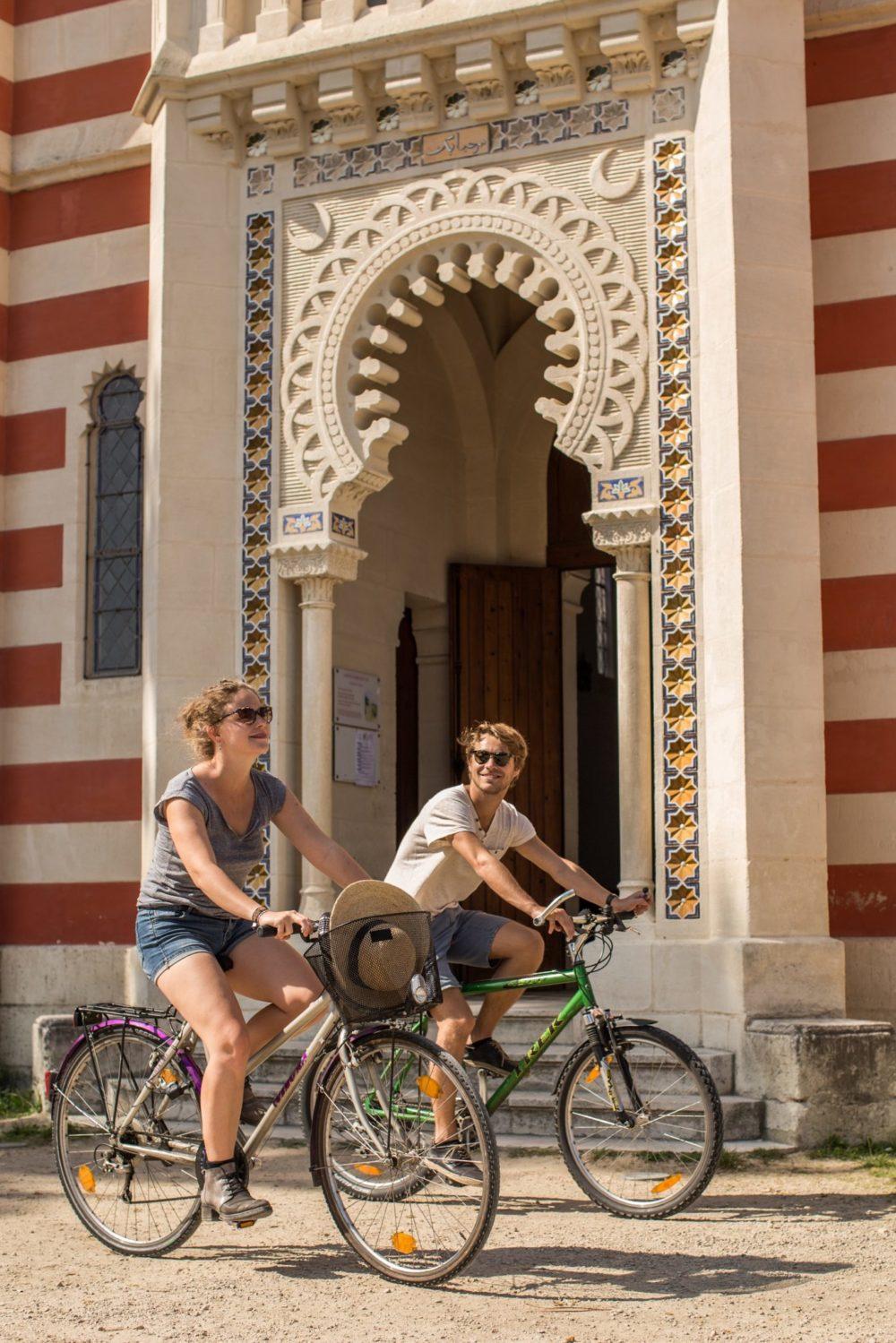 Vélo dans les villages ostréicoles de Lège Cap Ferret