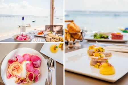Déjeuner au Pinasse Café au Cap Ferret