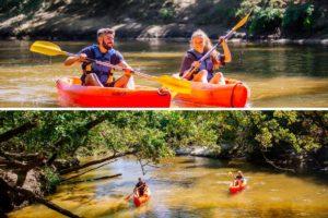 balade canoe leyre