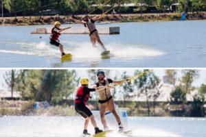 wakeboard entre amis mios