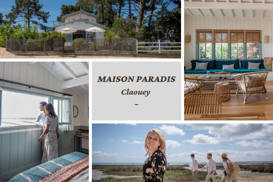 Villa du Cap Ferret avec conciergerie : Maison Paradis