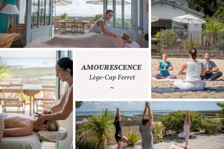 Villa du Cap Ferret avec conciergerie : soins Amourescence