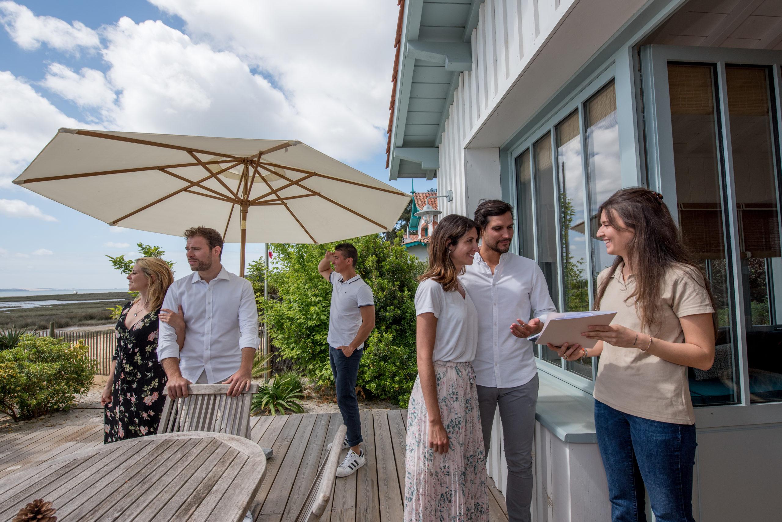 Villa du Cap Ferret avec conciergerie : accueil