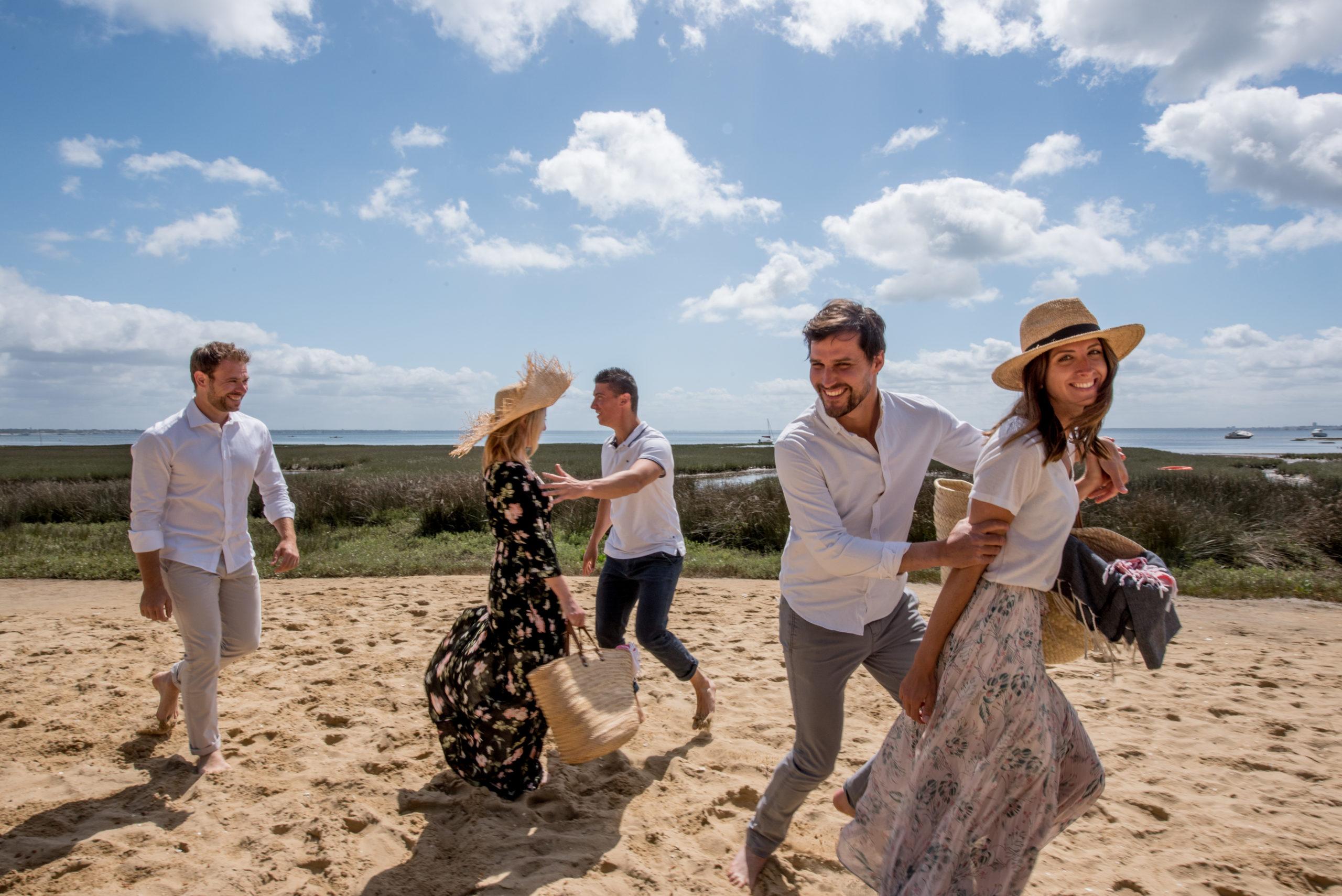 Villa du Cap Ferret avec conciergerie : plage