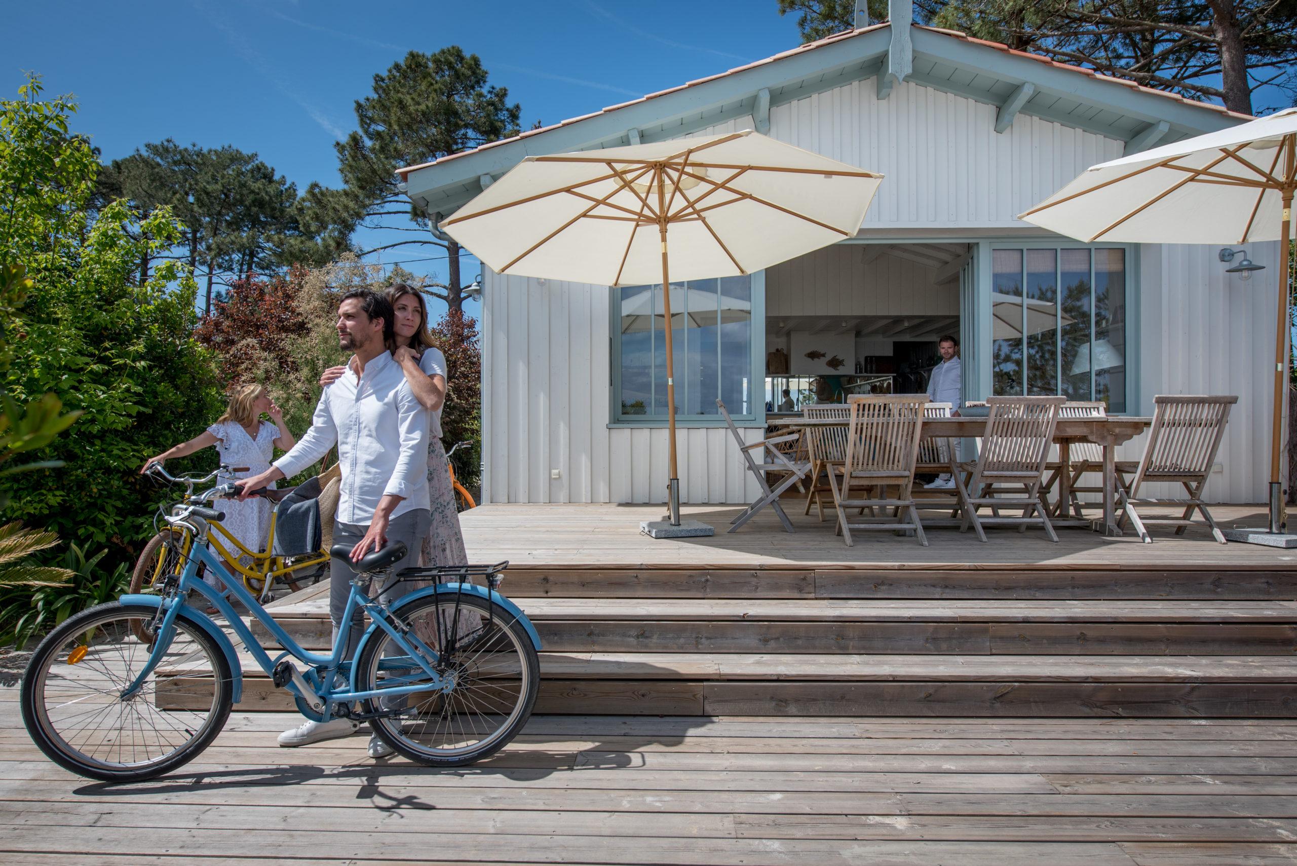 Villa du Cap Ferret avec conciergerie : location vélos 2